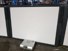 Promethean ActivBoard, with Promethean PRM-30 multi media projector
