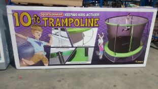 1 X Sportspower 10ft Trampoline