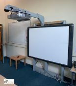 Promethean ActivBoard, With Promethean PRM-30 Multi Media Projector With Fully Automated Multi Posi