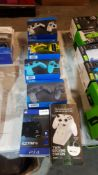 6 Items : 3 X VX4 PS4 / PC Premium Wired Controller, 1 X 4Gamers Charge For PS4 & 1 X Venom Xbox Tw