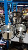 7 Items : Mixed Cooking Pots / Saucepans