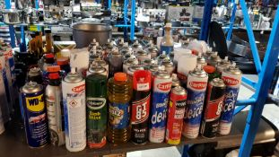 Approx 75 Items : Mixed Lot To Include CarPlan Bluestar De-Icer, WD-40, Insect Killer, Triplewax Da