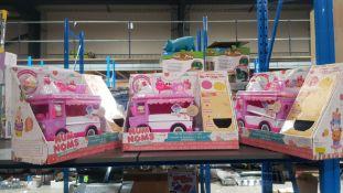 3 X Num Noms Glitter Lip Gloss Truck