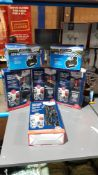 6 Items : 4 X Bluecol Car To Car Jump Start Charger & 2 X Equip 12V Air Compressor