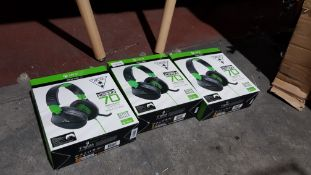 3 X Turtle Beach Xbox One Ear Force Recon 70 Wired Gaming Headset