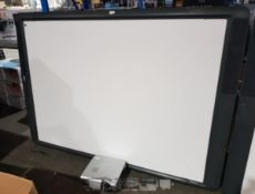 Promethean ActivBoard, with Promethean multi media projector