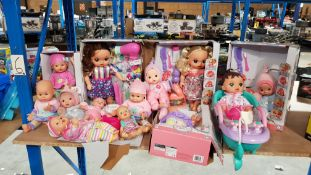Approx 13 Items : Mixed My Sweet Baby Dolls To Include Style & Play Doll