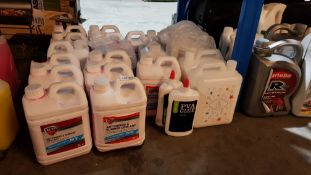 21 Items : Mixed Lot To Include 15 X Auto Drive Antifreeze & Summer Coolant & PVA Glue