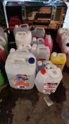 13 Items : Mixed Car Car Lot To Include Carlube AdBlue, Autodrive Wash & Wash Shampoo, Autodrive Al