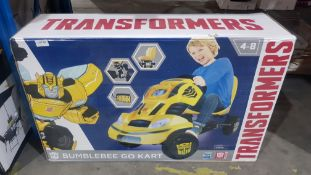 1 X Tranformers Bumblebee Go Kart