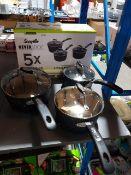 1 X Scoville Neverstick 3 Piece Pan Set