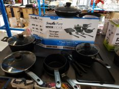 10 Items : Mixed Pan Set To Include
