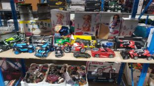 Approx 14 Items : Mixed Toy Cars / Vehicles To Include Adventure Force & Kid Connection