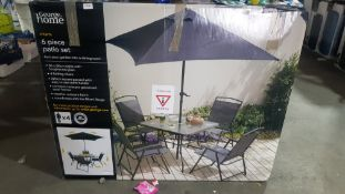 1 X Miami 6 Piece Patio Set