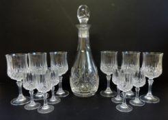 Crystal Decanter Drinks Set