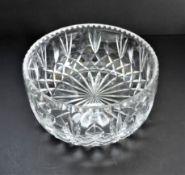 Vintage Hand Cut Crystal Bowl