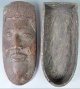 C19th congo region gunpowder box
