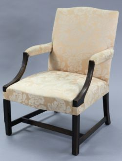 C19th Gainsborough Armchair