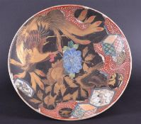 C19th Imari lacquered charger