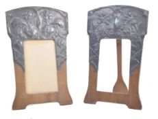 Pair of art nouveau picture frames