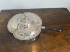 Elkington and Co plated handled breakfast entree dish