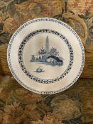 Bristol Tin-glazed plate C1760