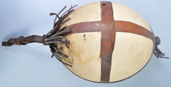 African antique ostrich egg ornament