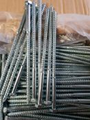 400 - M8x180mm coach screws