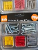 40 plug and screw sets