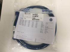 Huber suhner microwave flexible cable assembly
