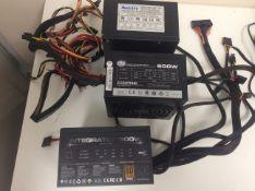 3x mixed power supplies