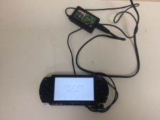 Psp console and charger