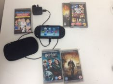 Psvita console plus games and charger