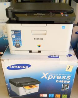 Samsung Xpress C480W Colour Laser Multifunctional Printer (Like New)