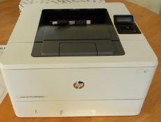 HP Laser jetPro M402dne Mono Printer
