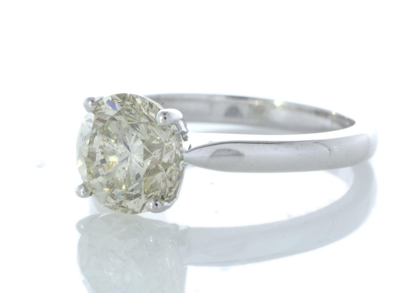 18ct White Gold Rex Set Diamond Ring 2.29 Carats - Image 2 of 5