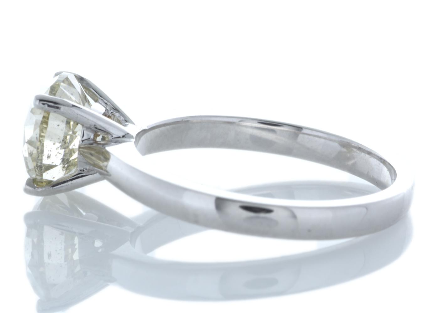18ct White Gold Rex Set Diamond Ring 2.29 Carats - Image 4 of 5