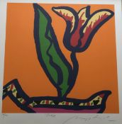 Tulip Gerry Baptist Limited Edition Print Signed numbered and titled