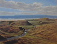 Signed artist proof 15th Ballybunion golf course by Scottish artist Peter Munro