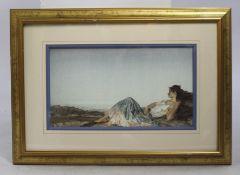 Sir William Russell Flint Print Framed