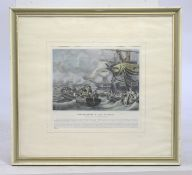 Framed Napoleonic Print Set in Frame