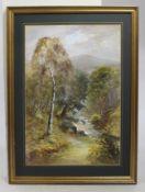 Original Watercolour Landscape Framed