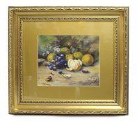 Worcester Fruit by John Freeman (b.1911) Oil on Board