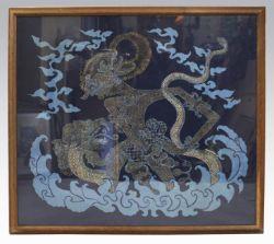 Large Balinese Batik Print by Suhirdiman 1976