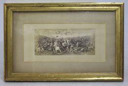 Classical Battle Print Framed