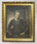 Rembrandt Print Set in Gilt Frame