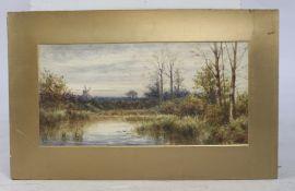 Watercolour Landscape Signed 1925