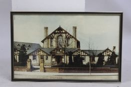 """St Andrew's Brine Baths"" Droitwich Photograph Framed"