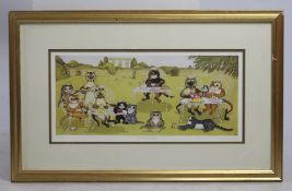"""The Garden Party"" Signed Limited Edition Linda Jane Smith Print"