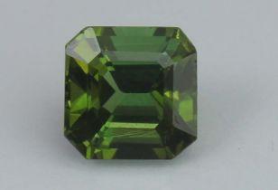 Green Tourmaline 1.01 Ct